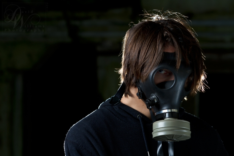 David Williams Photography Devon Williams Gas Mask Canon 7d