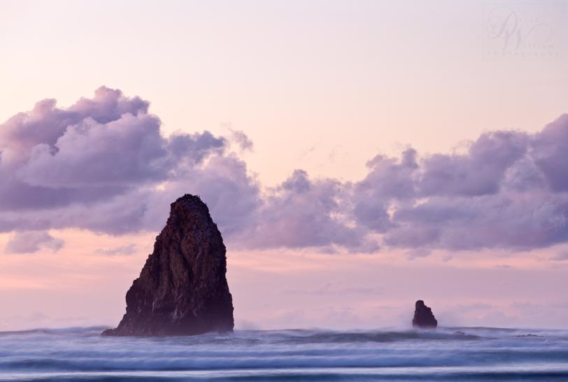 David Williams Photography Haystack Sunset