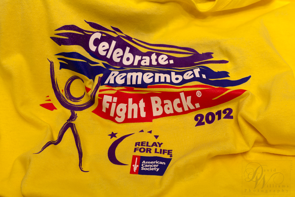 David Williams Relay For Life 2012