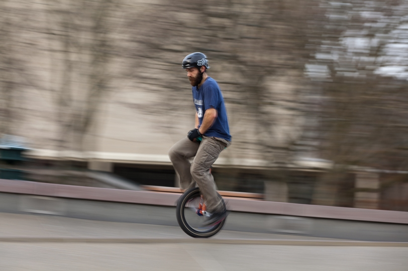 David Williams Photography Unicycle Motion