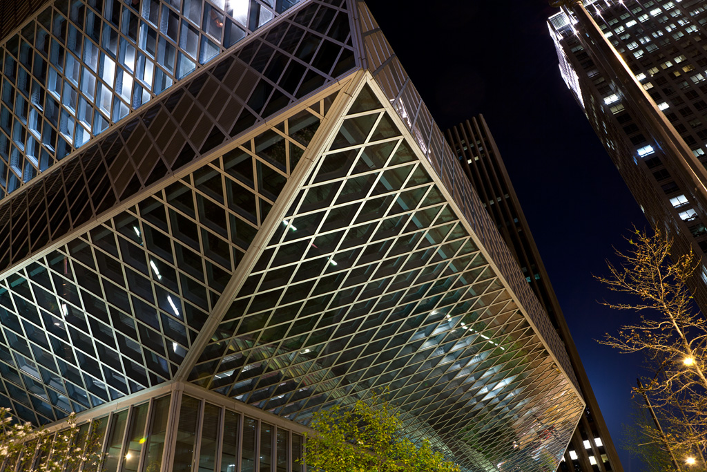 David Williams Photography Seattle Public Library