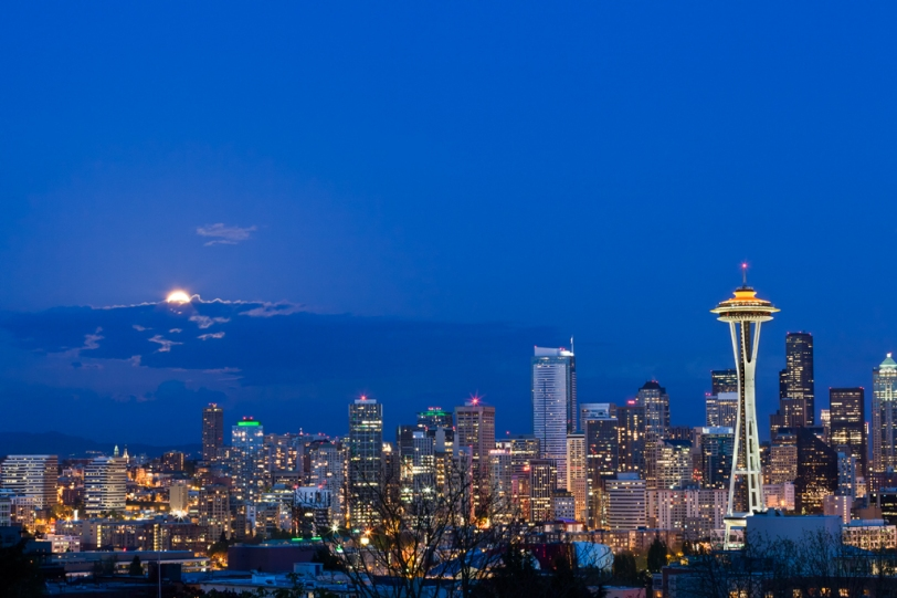 David Williams Photography Wordless Wednesday Seattle Space Needle