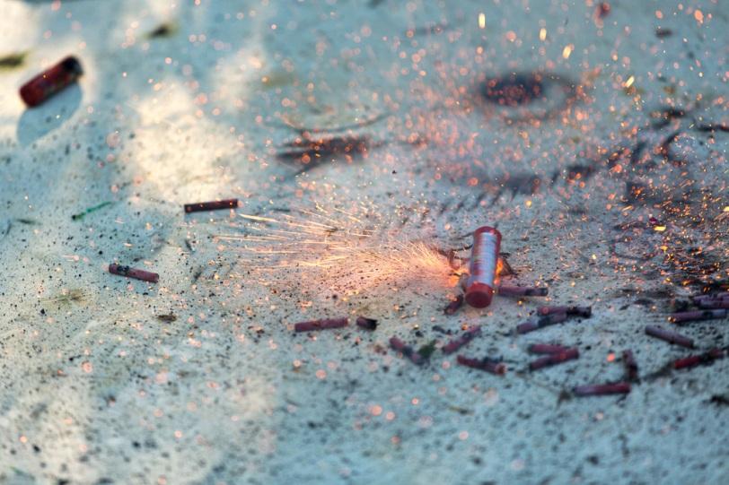 David Williams Photography Fireworks Ground Bloom