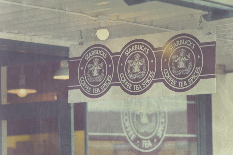 David Williams Photography Starbucks Sign