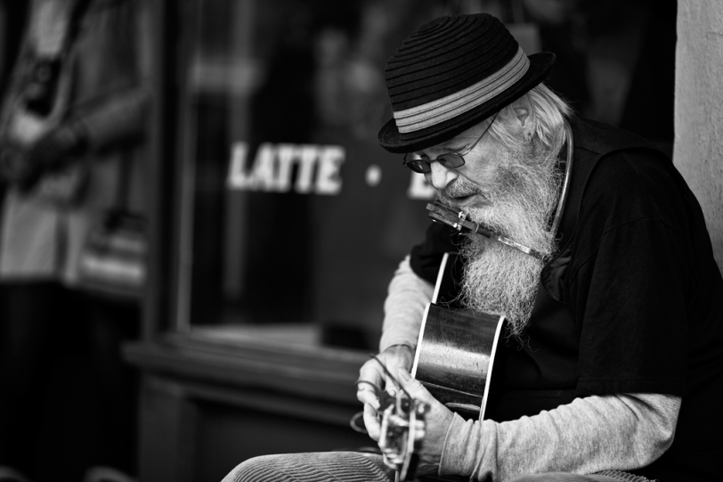 David Williams Photography Pike Place Street Performer
