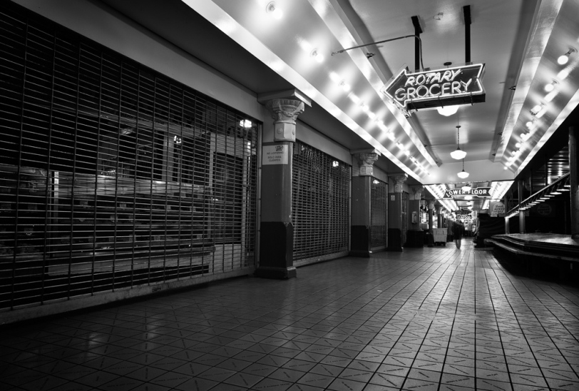 David Williams Photography After Hours Pike Place