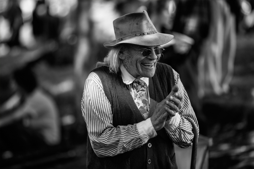 David Williams Photography Folklife Festival Happy Man