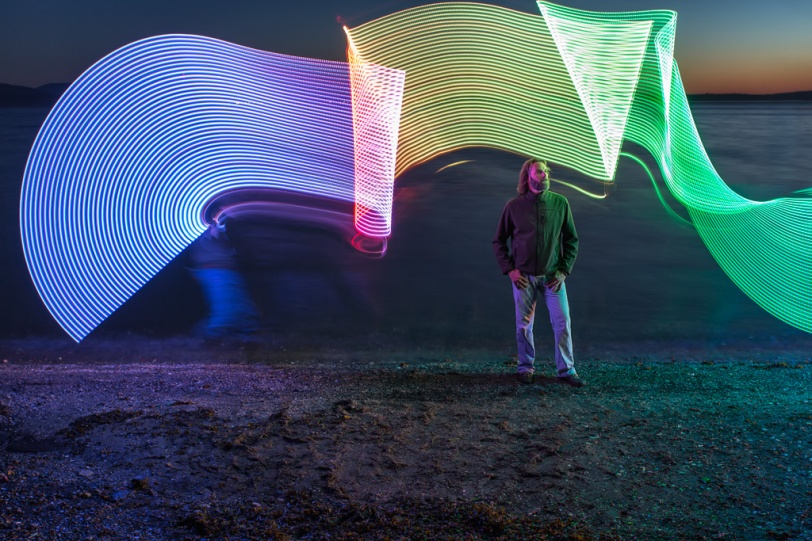 David Williams Photography Light Painting