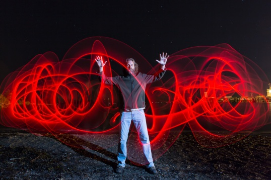 David Williams Photography Light Painting 1