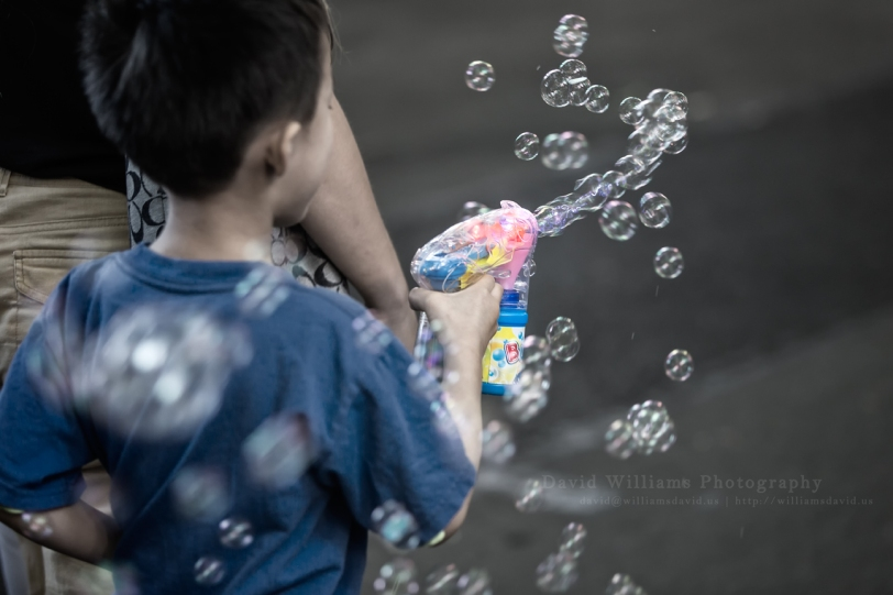 David Williams Photography Bubbles
