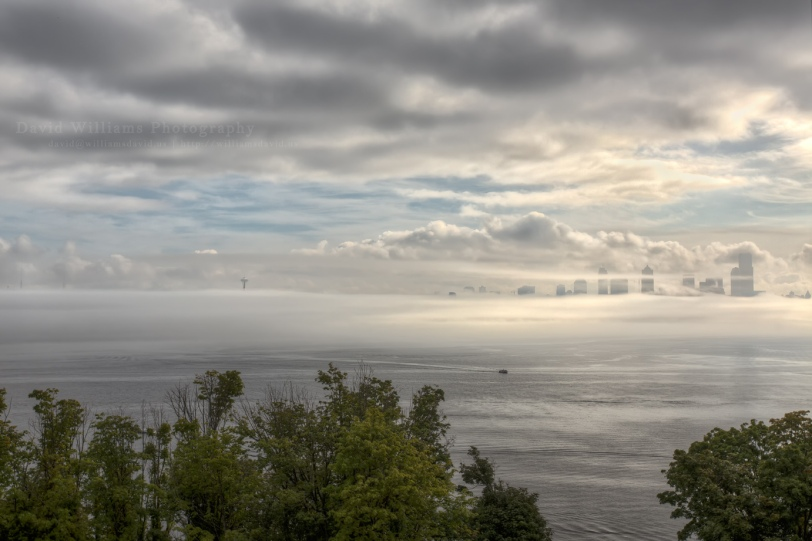 David Williams Photography WW Seattle Fog