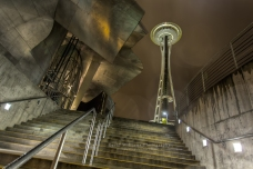 David Williams Photography Wordless Wednesday ~02.19.14~ Space Needle